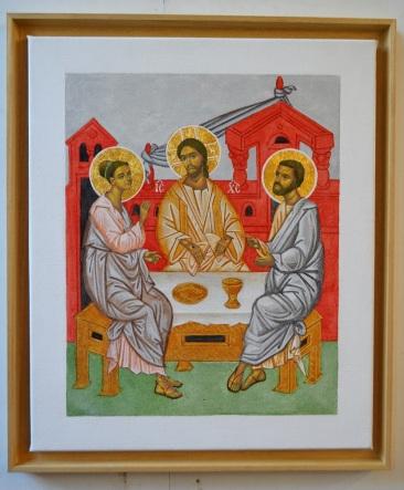 Supper at Emmaus version III