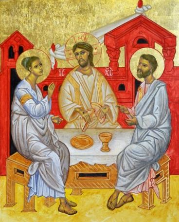 Supper at Emmaus version IV