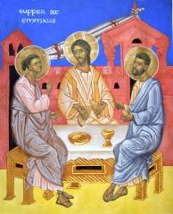 Supper at Emmaus version II