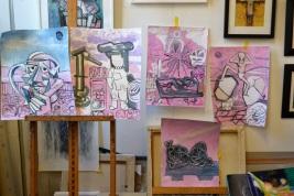 mike_quirke_giuseppe_marasco_studio_paintings_2018