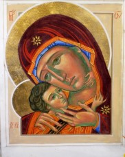 virgin of tenderness icon_ mike_quirke