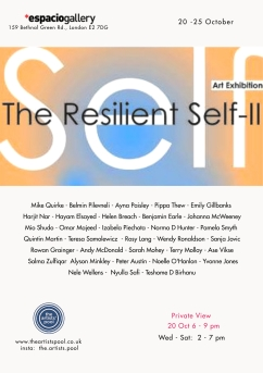Social media format The Resilient Self II - Espacio London